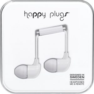Happy Plugs In-Ear Silver
