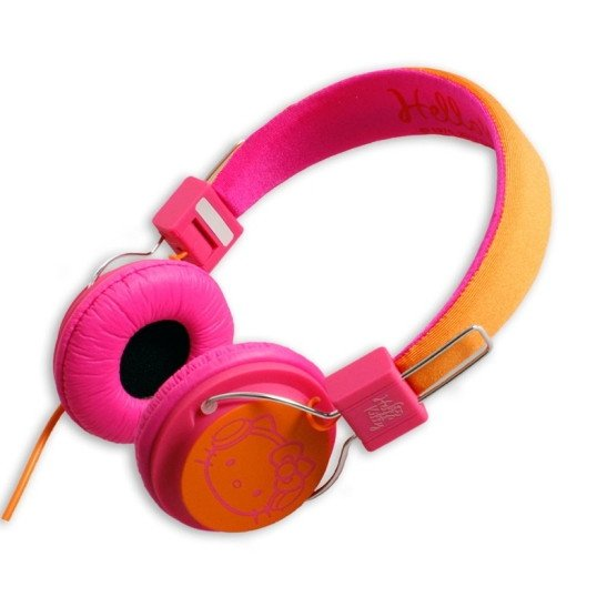 Hello Kitty Funky Town On-Ear Pink / Oranssi
