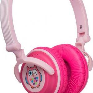 Kitsound Doodle Owl Pink