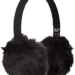 Kitsound Faux Fur Black