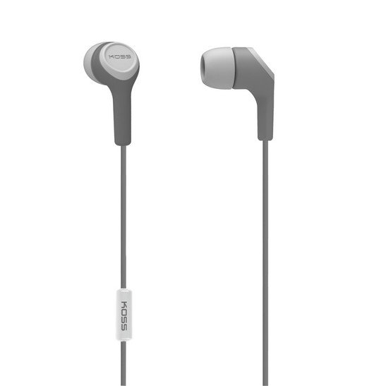 Koss KEB15iG In-Ear Mic1 Grey