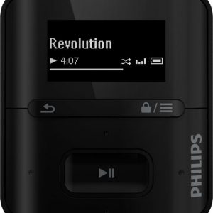 Philips GoGear Raga (G4) 2GB musta