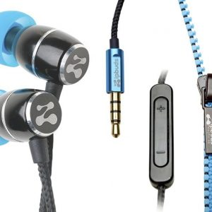 ZipBuds Fresh Mic Blue/Black